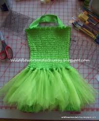 Tinkerbell Costume Pattern