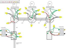 wiring diagram 3 way switch multiple lights With A 3 Way Switch Wiring Multiple Lights stunning wiring a 3 way switch with 3 lights diagram images best 3 way switch wiring with multiple lights diagram