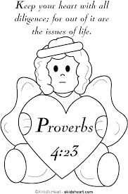 Bible Memory Verse Coloring Page