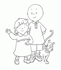 Small Picture Amazing Caillou Coloring Pages 73 For Your Coloring Print with