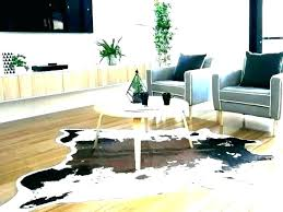 fake animal skin rugs hide faux fur s rug grey