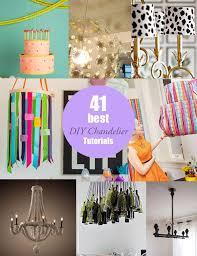 amazing diy chandelier tutorials