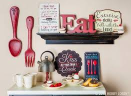 If food is what brings your family and friends together, let your decor reflect that with let's eat wood wall decor! 30 Eye Catchy Kitchen Wall Decor Ideas Digsdigs