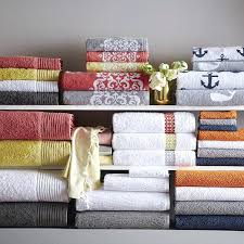 Roll Over Image To Zoom West Elm Bathroom Vanity Lighting Light Weight Bath  Towels
