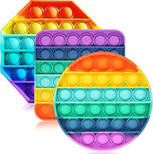 Push pop bubble fidget stress toys are greats for all. Amazon Com Enthur Fidget Toys For Adults And Kids Bubble Sensory Fidget Toy Push Pop Fidget Toy Squeeze Sensory Toy 3pcs Toys Games