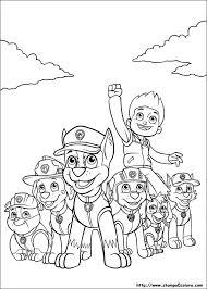 Disegni Da Colorare Paw Patrol Modificare Una Pelliccia