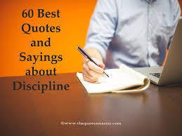 Discipline Quotes Impressive 48 Best Quotes And Sayings About Discipline