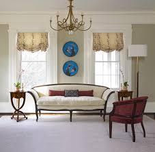 ... Formal Living Room Sofa White Wooden Sofa Carpet Cushions Vase Curtain  Window Chair: ...