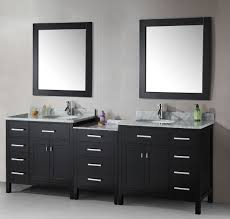 Adorable Concept of Double Sink Bathroom Vanity