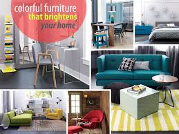 new colorful furniture finds to brighten your home bright colorful home