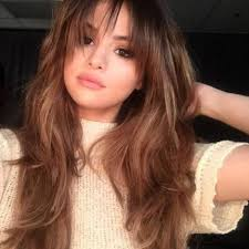 Hairstyle Bang selena gomez changes up hairstyle with bangs upi 6557 by stevesalt.us