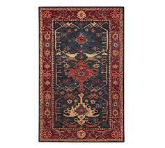 channing persian style rug indigo