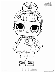 Lol Doll Coloring Pages Wonderfully Lol Surprise Doll Coloring Pages