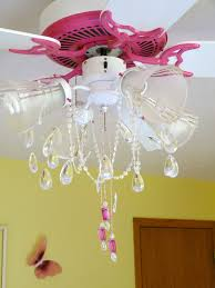 candace creations pink ceiling fan chandelier makeover chandelier for little girl s bedroom