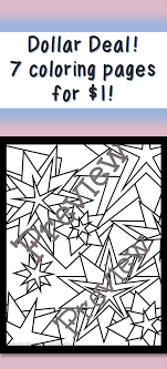 7 Coloring Pages