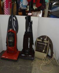 kenmore quick clean. (3) vacuum cleaners: kenmore quick and clean, 14\ clean 9