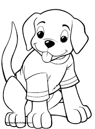 Cute Dog Coloring Pages New Coloring Pages Cute Puppies Coloring
