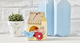 how to make a birdhouse gift box