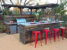 outdoor patio bar ideas homemade