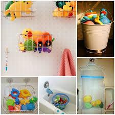 bath toy storage ideas 15 ways to bath toyagically declutter your bathroom