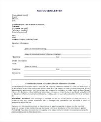 Sample Of Fax Cover Letter Image Collections - Letter Format Formal ...