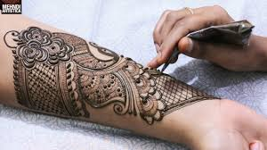Dulhan Mehndi Designs Full Hand Full Hand Dulhan Mehndi Designs Indo Arabic Full Hand Wrist Palm Mehendi Design Wedding Bridal