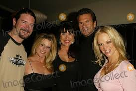 Photos and Pictures - Terry Moore, Wendy Carroll, Sandra Costa, Lorenzo  Lamas and Barbara Moore at a party hosted by Barbara Moore to showcase the  design talents of interior decorator Sandra Costa,