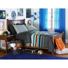 twin boy teen gray blue orange reversible striped comforter sheet bedding set twin boys teen bedding sets twin kids