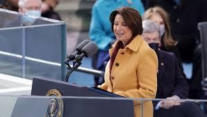 Senator Klobuchar plays visible role at historic inauguration