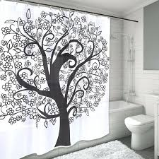 bathrooms celtic tree of life shower curtain
