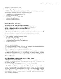 appendix a transportation security training courses page 19