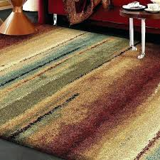 fantastic colorful striped rug rugby area rugs amazing modern living room ideas fabric carpet white leather