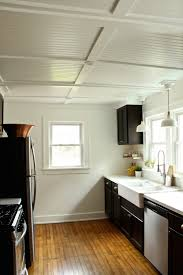 Kitchen Ceiling Rehab Diaries Diy Beadboard Ceilings Remodelista