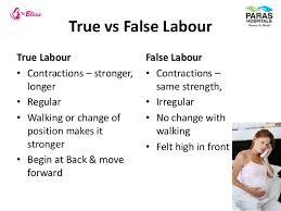very painful false labor