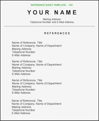 Reference Pages For Resume 009 How To List Reference On Resume Basitter Sample
