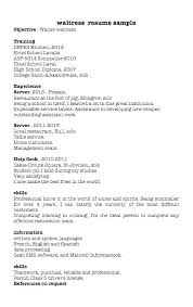 Profile On Resume Beauteous Resume Example Profile Adorable Sample Restaurant Template Company