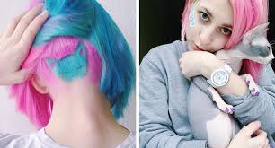 Cat Hair Style rainbow cat undercut is the hottest new hairstyle on instagram 6 6479 by stevesalt.us