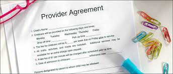 Free Day Care Free Home Daycare Contract Daycare Enrollment Forms