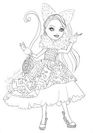 Small Picture Kara Realm Ever After High Coloring Pages kaidas 6th bay party