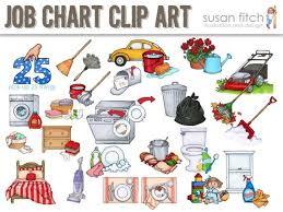 Job Chart Chore Chart Clip Art Clip Art Job Chart Chores