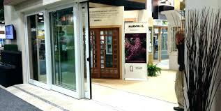 retractable glass doors sliding door disappearing patio screen for