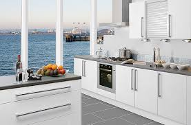 kitchen modern design white