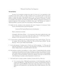 science essay