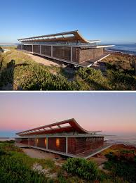 14 Examples Of Modern Beach Houses // This South African beach house is as  close