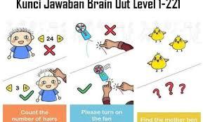 Berikut kunci jawaban brain out lengkap terbaru mulai dari level 1 hingga level 221 dengan bahasa indonesia dan cara yang mudah dimengerti. Kunci Jawaban Brain Out Level 1 221 Lengkap Terbaru