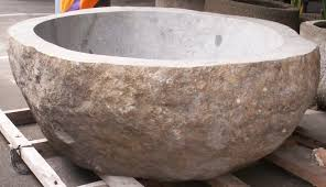 accessories charming river rock stone soaking tubs jeanne marie imports tub natural bathtub formalbeauteous