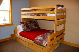 twin loft bed frame wooden