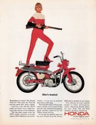 vintage honda motorcycle ads. Honda Trail 90 From Playboy Mag Nov 1964 Inside Vintage Motorcycle Ads