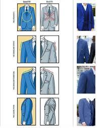 Proper Suit Fitting Guide Mens Fashion Suits Mens Fashion