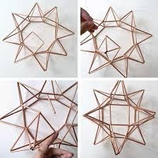 star pendant lighting. Complete First Side For DIY Copper Moravian Star Pendant Light Fixture Lighting